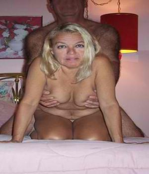 Blonde MILF With Horny Boyfriend