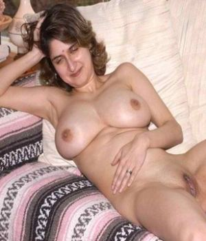 Busty Indian Wife Totally Nude