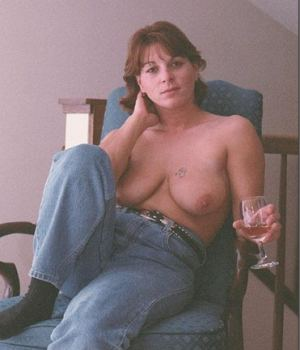 Drink horny mom topless