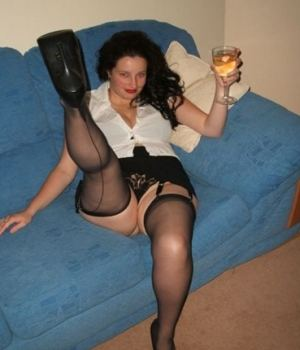 Drunk MILF Inviting For A Toast And Sex