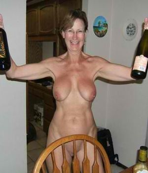 Drunk Mom Goes Wild and Celebrating