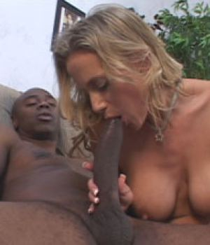 Kylie's husband has always had a huge fantasy of watching her get stuffed by a big black cock