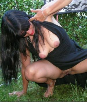 MILF Taking A Piss Outdoor