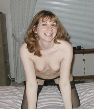 Milf With Braces Stripping For You