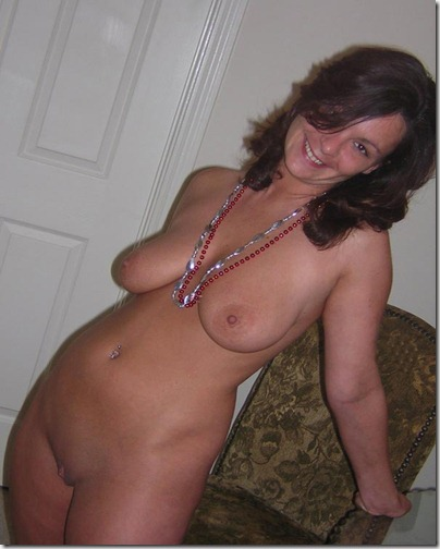 Nude Drunk MILF Totally Having Fun For The Festival