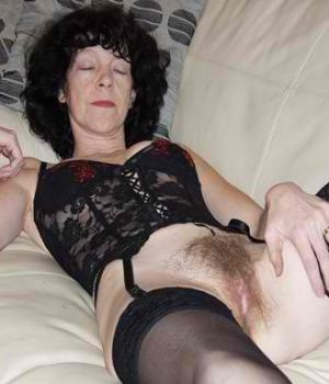 Sleeping Mom With A Hairy Pussy